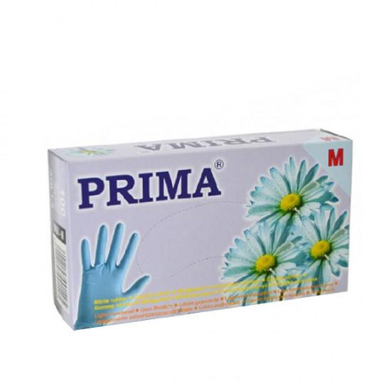Ръкавици за еднократна употреба - кутия 100 броя - Сини