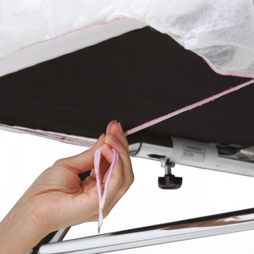 Чаршафи за масажно легло с ластик от нетъкан полипропилен - 10 броя