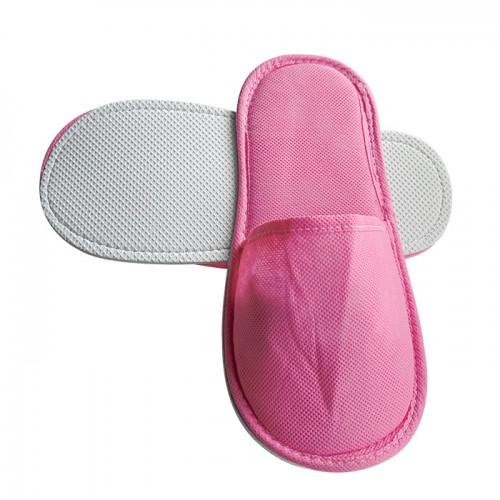 ТНТ затворени чехли с плътна подметка, Розови