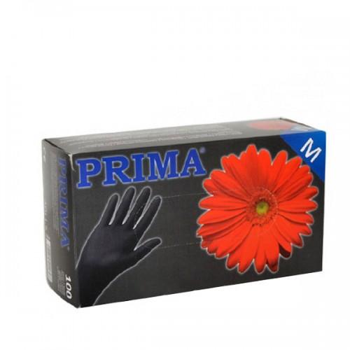 Ръкавици за еднократна употреба - кутия 100 броя - Черни