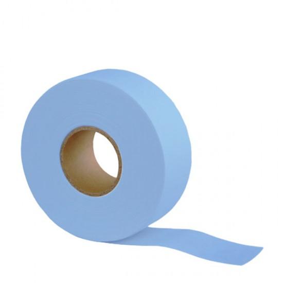 Цветна перфорирана лента – ролка 70 метра – син цвят