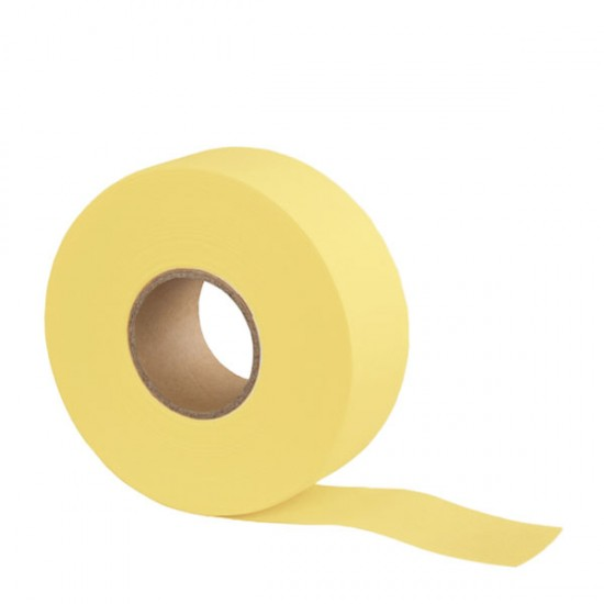 Цветна перфорирана ролка – 70 метра – жълт цвят