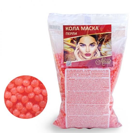 Кола маска Bon Amour, Crystal Orange - перли, 800 гр.