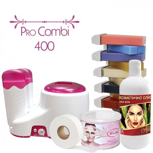 Комплект за епилация с кола маска, комбиниран - Pro Combi 400