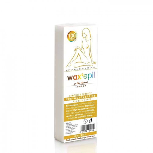 Нарязана лента за кола маска WaxEpil - Опаковка от 100 бр.