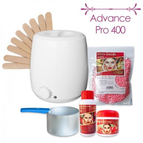 Комплект 6 в 1 за процедури с кола маска на перли Advance Pro 400