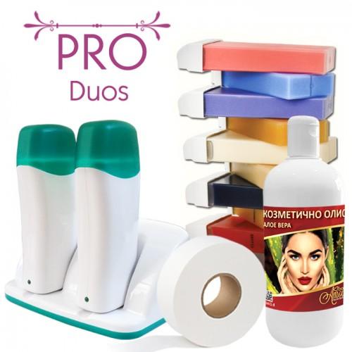 Професионален пакет за епилация с кола маска – Pro Duos